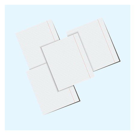 backgrounds with paper sheets,for design in business Vector