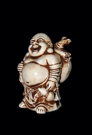 Netsuke. Mascot. Antiquarian figure. Amulet. photo