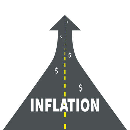 Inflation Icon. Stock Vector Illustration