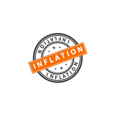 Inflation Icon. Stock Vector Illustration 向量圖像