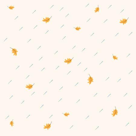 Fall background. Stock Vector Illustration