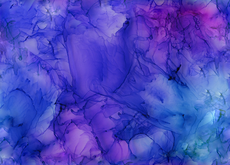 SEAMLESS beautiful watercolor acrylic alcohol ink background. The texture can be used for wallpaper or posters or for making book covers and notebooks, graphic editing or desktop wallpaper. 版權商用圖片