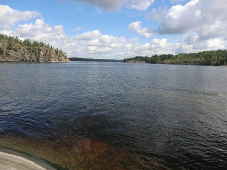 Gulf on Ladoga lake Stock Photo - 10669493