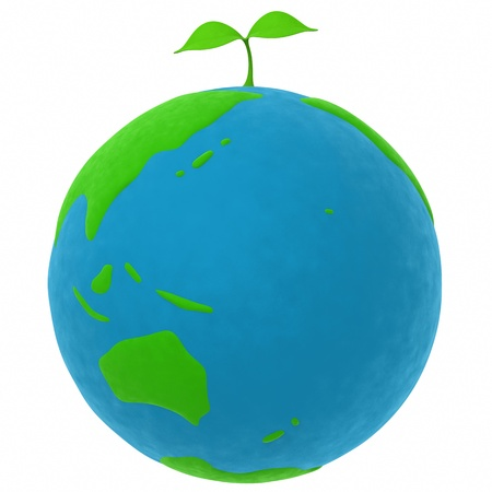 simplified: the earth and the plant