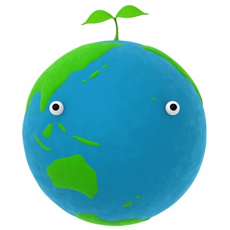 the earth and the plant