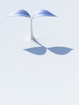 solar cells: a plant with solar panels