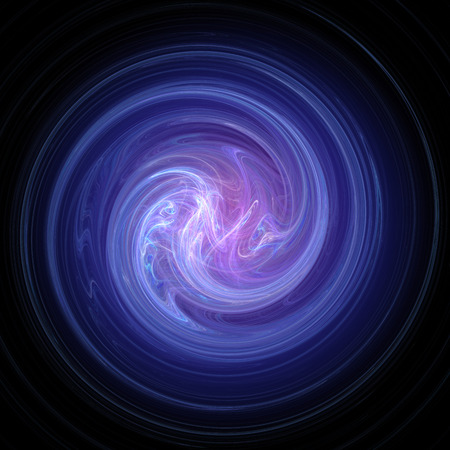 curving: Rendering of blue and pink abstract swirl image.