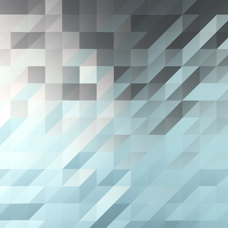 A background image of a bluish polygonal plane created in a 3D computer graphics software.  Shiny material is assigned to the plane and it reflects the color of sky picture.