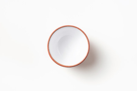 Asia culture and design concept - empty chinese porcelain teacup