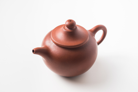 Asia culture and design concept - chinese teapot
