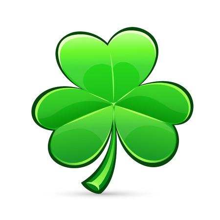 trefoil: St Patricks Day clover