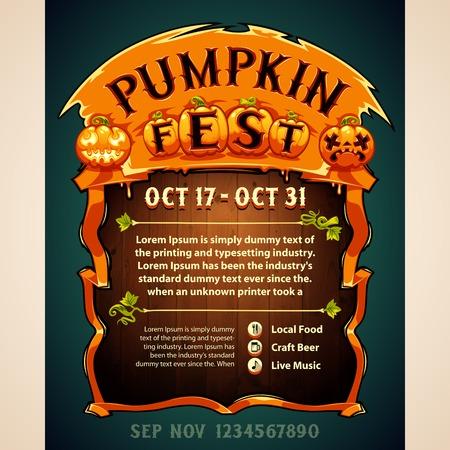 fest: Pumpkin Fest Poster
