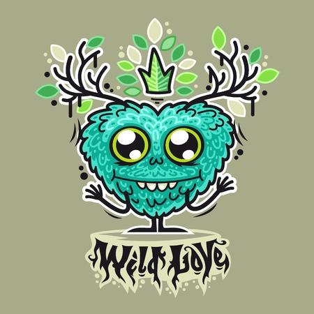 grotesque: Cute Wild Love Monster