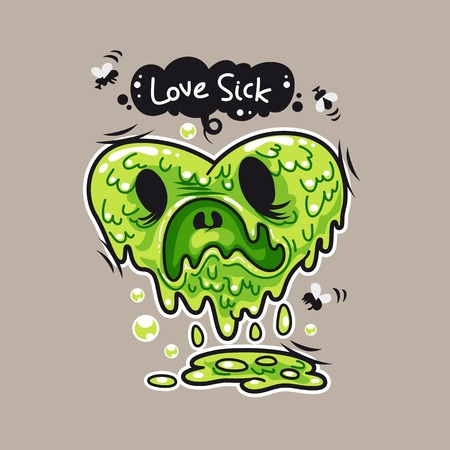 Love Sick Illustration