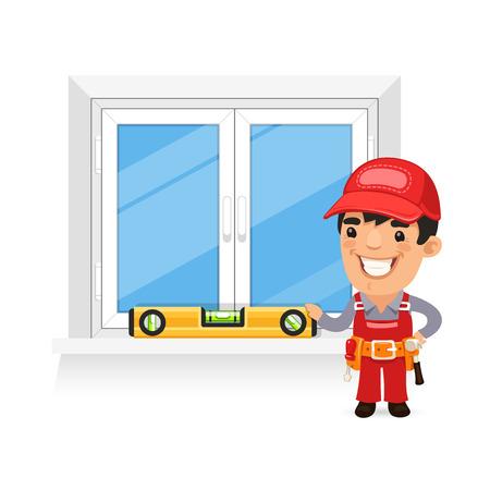 Carpenter Controleert de New Window