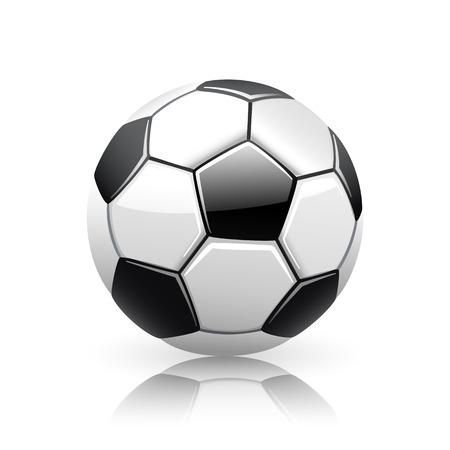 Realistic Soccer Ball 版權商用圖片 - 40001204