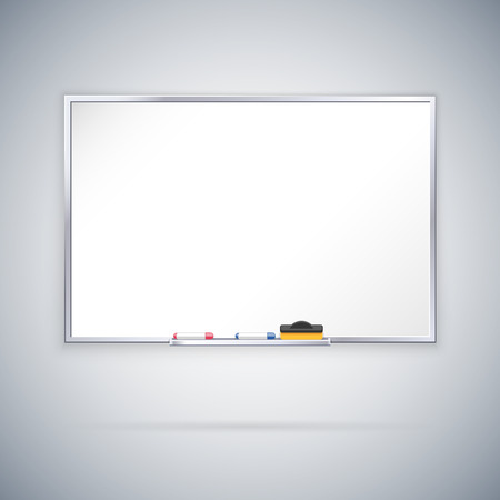 empty office: Office Whiteboard. Clipping paths included in JPG file.