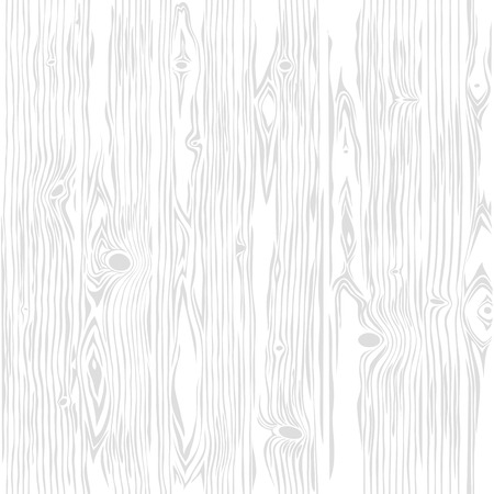 Witte houten naadloze verticale structuur. Vintage retro achtergrond. Bewerkbare patroon in stalen. Clipping paths inbegrepen. Vector Illustratie