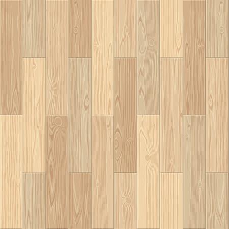 Light parquet seamless floor texture. Vektorové ilustrace