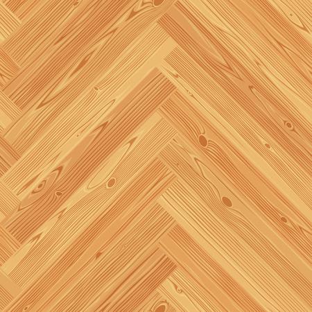Fischgrätparkett nahtlose Fußbodenbeschaffenheit. Vektorgrafik