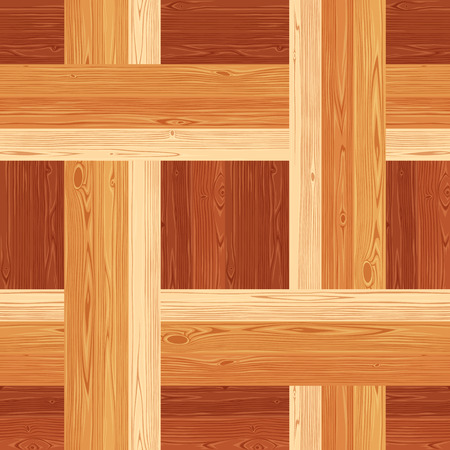 netting: Square netting parquet seamless floor texture. Editable pattern in swatches.