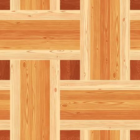 parquet texture: Square platting parquet seamless floor texture. Editable pattern in swatches.