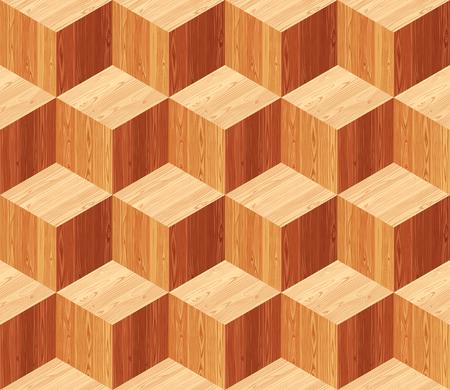 parquet texture: Diamonds parquet seamless floor texture. Editable pattern in swatches.