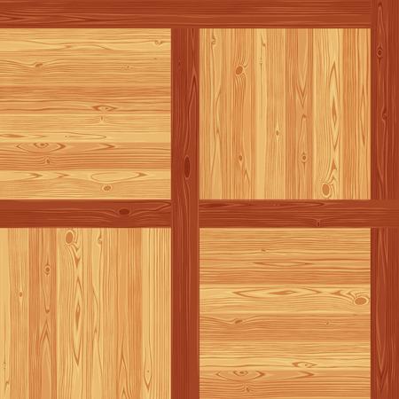 parquet texture: Versailles parquet seamless floor texture. Editable pattern in swatches.