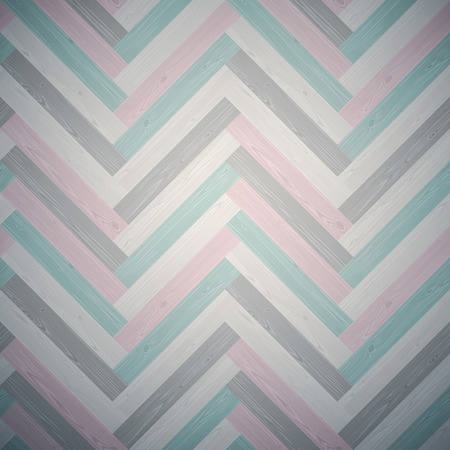 Mixed herringbone parquet dark floor texture. Editable pattern in swatches.