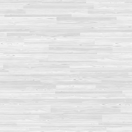 White parquet seamless wooden floor stripe mosaic tile. Editable pattern in swatches.