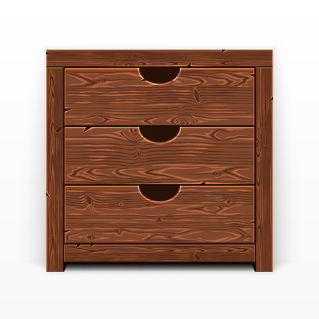 Wooden Old Chest of Drawers