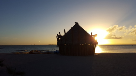 beack: Sunset in Mexico