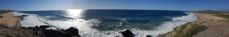 pacific ocean: Pacific Ocean Panoramic Stock Photo