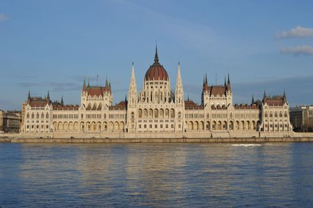 the parliament: Parliament building, Budapest, Hungary