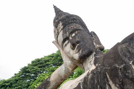 Stucco statue