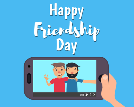 Happy day of friendship