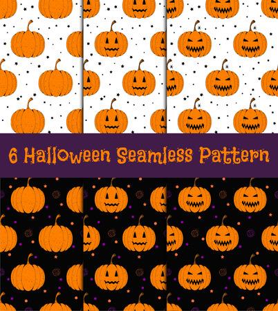 Halloween seamless patter  illustration