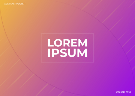 Abstract geometric background with dynamic shapes. Vector illustration