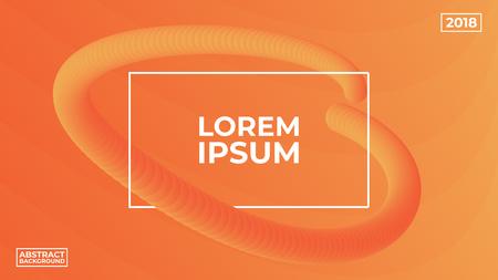 Modern background design. Gradient shapes composition. Vector illustration