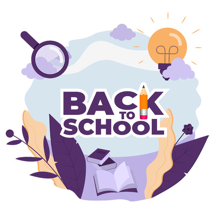 Back to school 5-1 Illustration