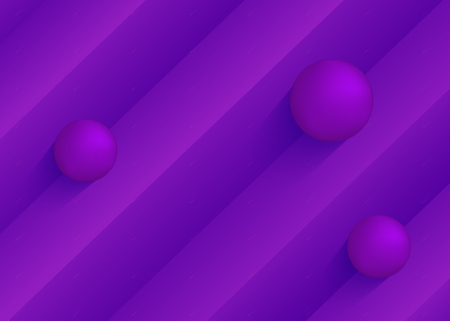 Gradient geometric background with colorful 3d shapes composition. Vector illustration