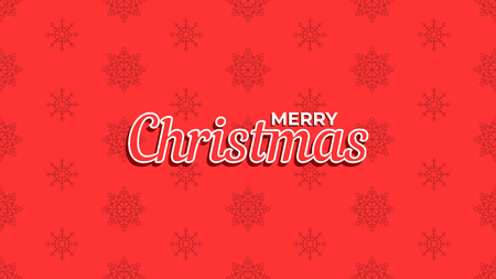 Merry Christmas background. Template for poster, banner or web. Vector illustration