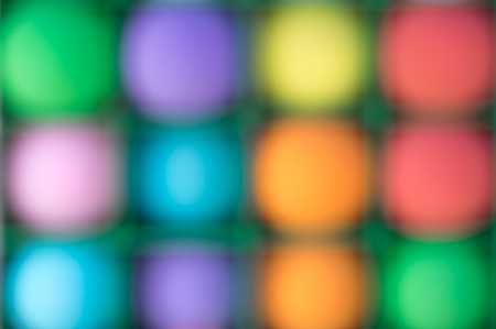 de focused: De focused or blurred colorful balloons for fun activity background