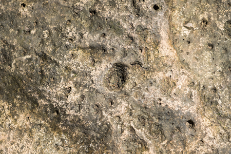 kwaśne deszcze: Erozji hard rock z otworami na tle mineralnej