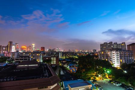 nightscape: bangkok nightscape
