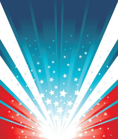 USA Flag Background Illustration