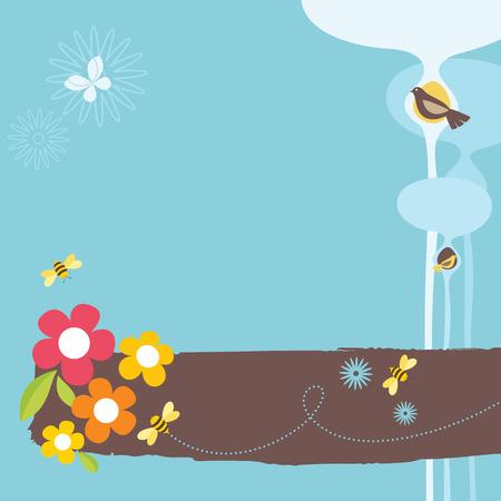 fondos colores pastel: Vida animal  Vectores