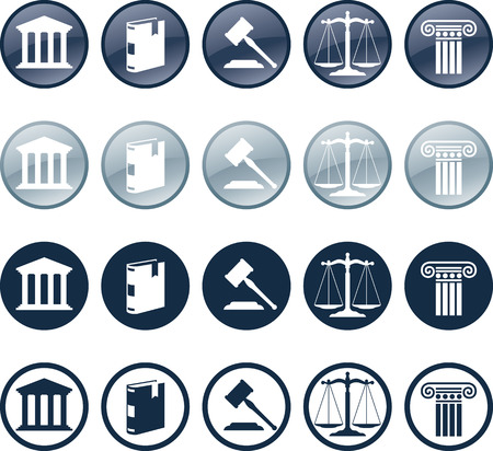 Attorney Icon Stock Vector - 6720798