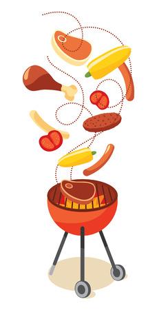 bbq grill: BBQ grill