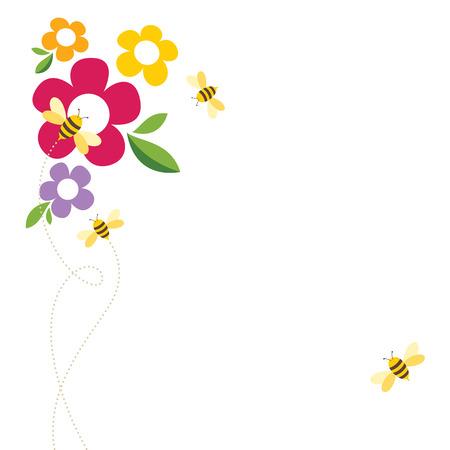 Bee Life Vector